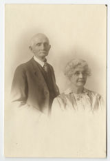 Photograph of William L. and Hattie E. Riley, undated