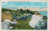 The tourist camp in Gananoque, Ontario