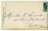 Envelope with from Tabor and Safford, Real Estate Agents, to ''Mrs. Geo. W. Safford''
